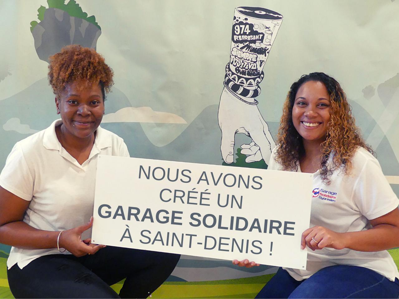 Le gareage solidaire de saint-denis